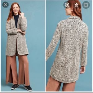 Anthropologie Cartonnier jacket, NWT, Medium